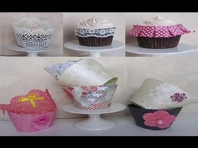 Diy cupcake wrappers - copri pirottini fai da te tutorial