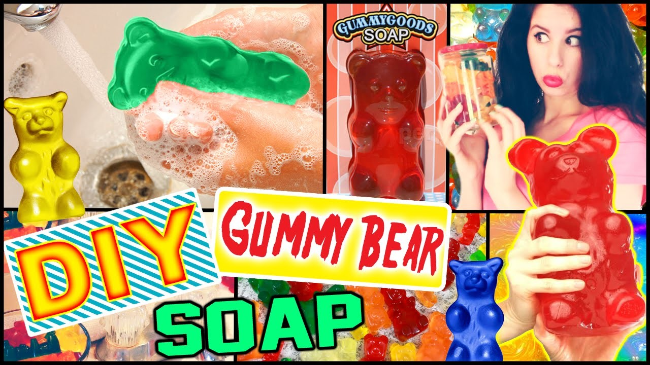 DIY Gummy Bear Soap! | Possible Room Decor! | Make Soap Into Gummy Bears!