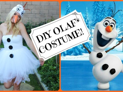 DIY Olaf! Frozen Halloween Costume. Style By Dani