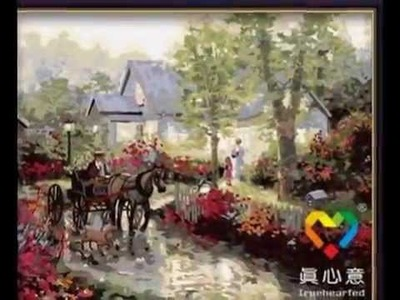 DIY Painting By Numbers Hand-painted Canvas digital oil painting Arts and crafts