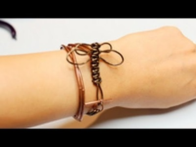 DIY Stackable Bracelet #4: Dragonfly Wrapped Bracelet