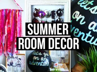 DIY Summer Room Decor! Cute Room Accessories & Wall Decor | LaurDIY