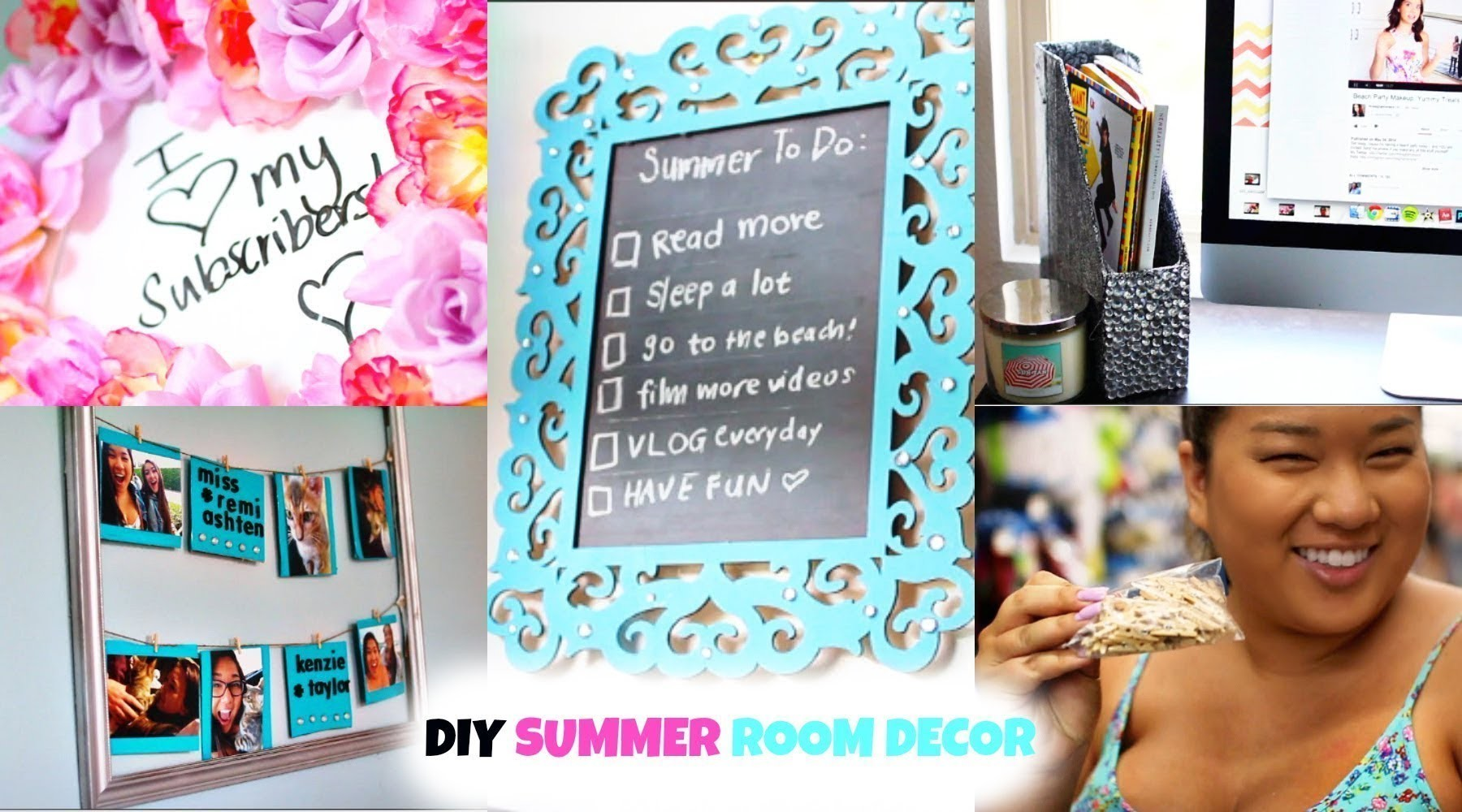 DIY SUMMER ROOM DECOR! Easy & Affordable! ♡ #DIYwithRemi