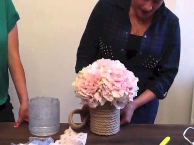 DIY Wedding Decor- How to Make Couture Vases