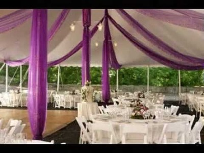 DIY Wedding venue decorations