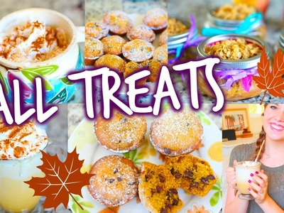 Easy DIY Fall Treats & Drinks!