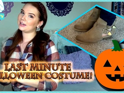 Easy Last Minute DIY Halloween Costume With BeautyBaby44 #OOTD EP. 68