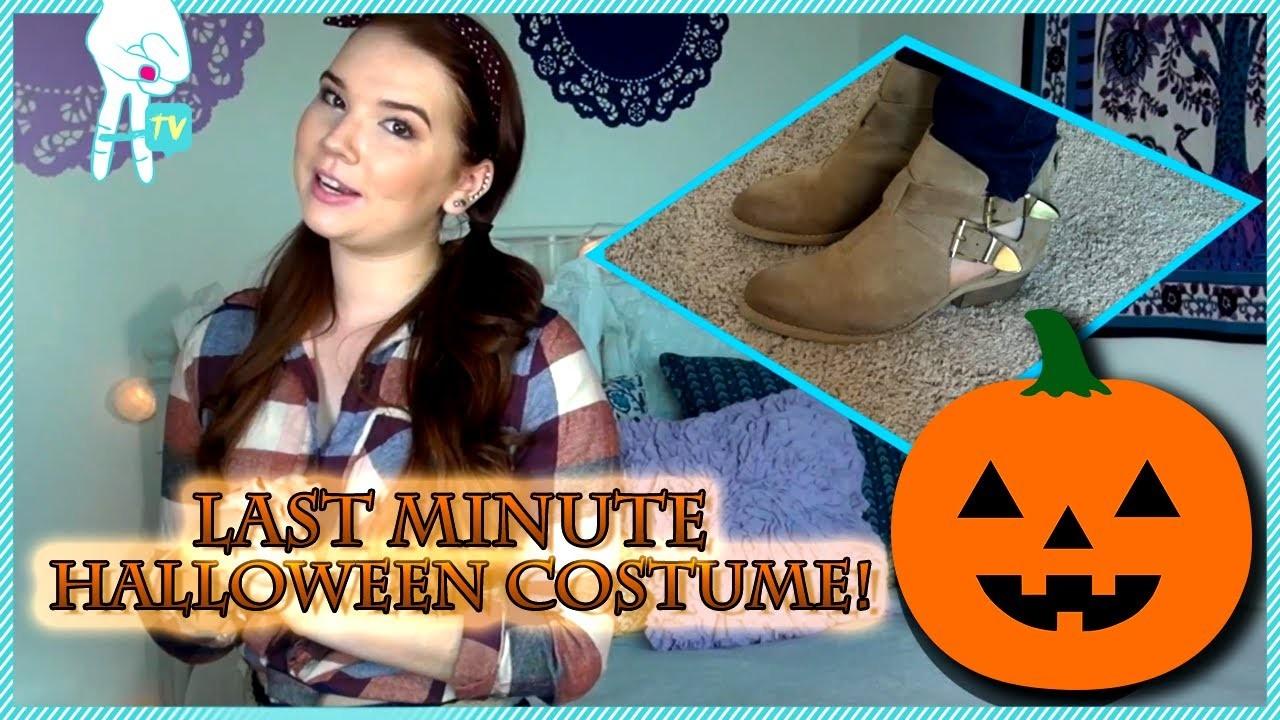 Easy Last Minute DIY Halloween Costume With BeautyBaby44 #OOTD EP. 68