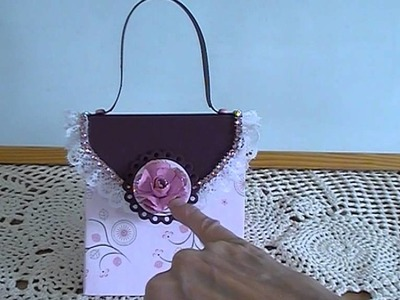 Explosion bag.purse May 2014 Card Challenge on The Craft Hole on Facebook