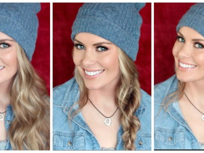 HOW TO: 3 Beanie Approved Hairstyles | Kylee's Beauty