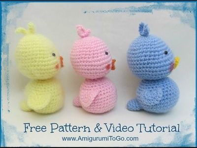 How To Crochet A Duck Body & Tail