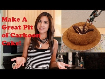 How-To:  Great Pit of Carkoon Bundt Cake