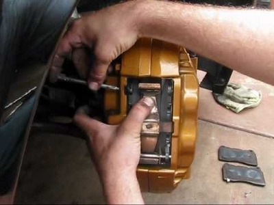 How to install STi brake pads