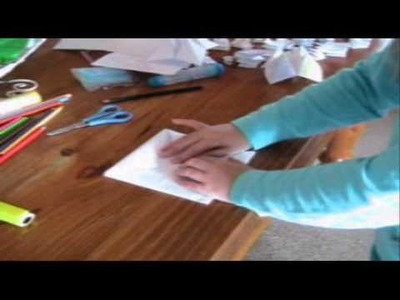 How to make a Chatterbox - Great Children's Craft Idea - Very Easy