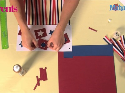 How to Make a July 4th wind sock