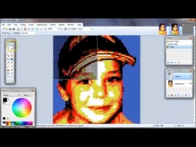 How to make a Lego Mosaic Portrait