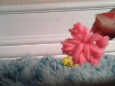 How to make a star.flower charm without the loom
