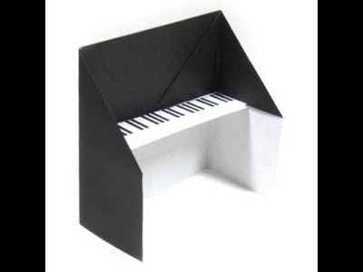 How To Make An Origami Piano