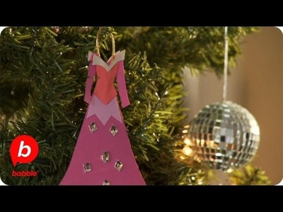How to Make Disney Princess Gown Christmas Ornaments | Crafts | Babble