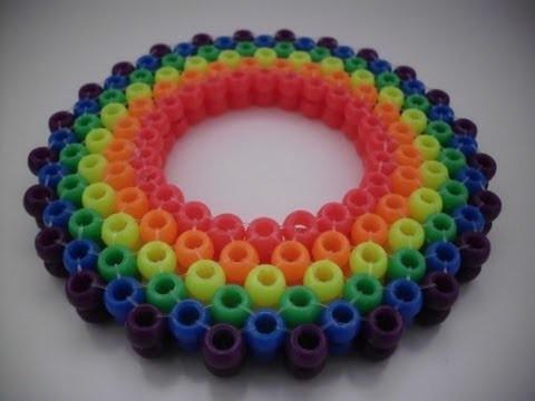 How to make kandi.pony beads: 3D ladder