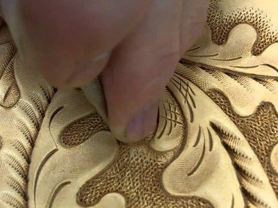 How to tool leather