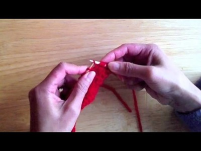 Increase Knitting By Knit Into A Horizontal Loop Of The Previous Row