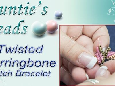 Karla Kam - Twisted Herringbone Stitch Bracelet