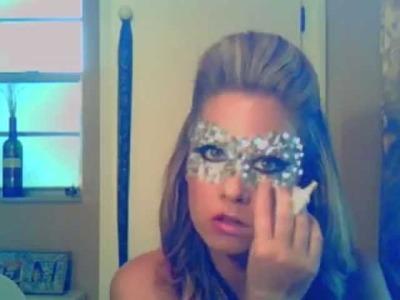 Lady Gaga Mask & Makeup