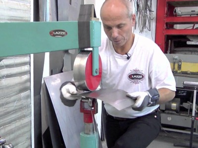 Lazze Metal Shaping: Keeping Flat Materials Flat in the Bead Roller PART 2
