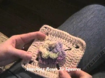 Learn Crochet Now - Project 9, Rose Trellis Afghan