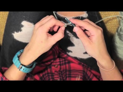 Learn To Crochet: How To Chain