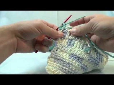 Left Hand: Change Color with Crochet Technique