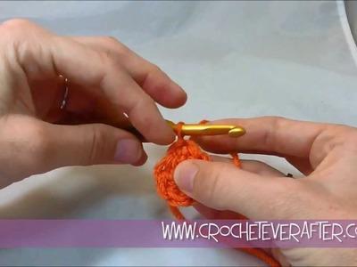 Left Hand Half Double Crochet Tutorial #6: Magic Adjustable Loop in HDC