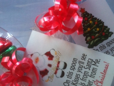 Make Chocolate Kiss Christmas Gift Spoons - DIY Crafts - Guidecentral