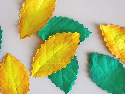 Make Realistic Leaves from Paper - DIY Crafts - Guidecentral