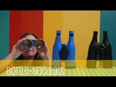 Making Arts and Crafts Bottle-noculars - Making Fun!