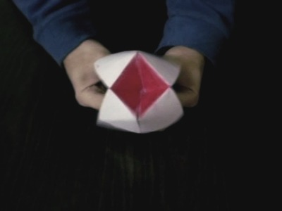 Origami shuffle Paper Toy