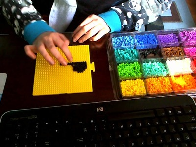 Perler Beads: 3D piano!