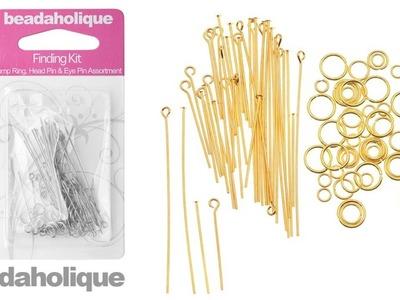 Product Spotlight: Beadaholique Jump Ring, Head Pin, and Eye Pin Finding Kit