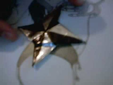 Re: How to Make a Paper Ninja Star (Shuriken) - Origami