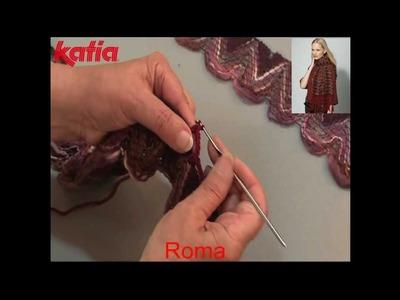 Roma (Joining using crochet chain.Unión a ganchillo cadenetas)