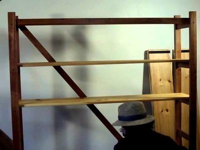 SIMON LEACH POTTERY TV - Shelf units for gallery & craft show display - Jan 12 '14