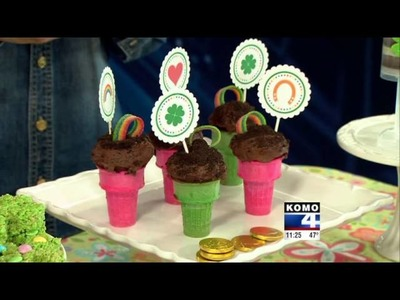St. Patrick's Day Food and Crafts with KOMO-TV DIY Diva Malia Karlinsy