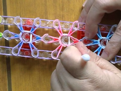 Starburst loom bands and hama beads