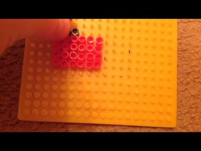 Tutorial of nail polish hama beads