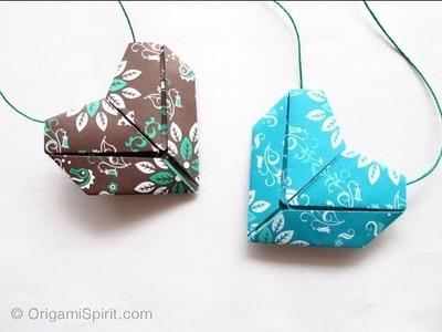 Tutorial Origami Heart -Corazón