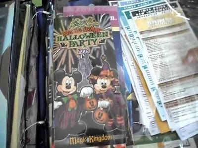 Video #11 Disney scrapbook supplies