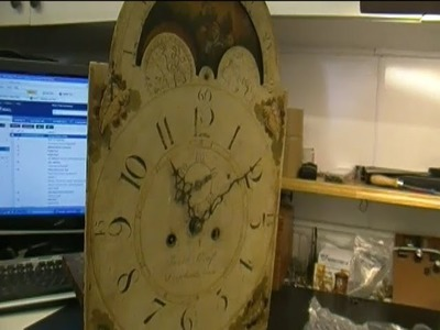 8 Day Tall Case Clock by Jacob Craft Movement Repair Video Preview