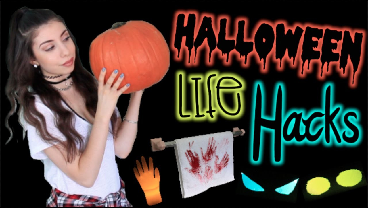 8 Life Hacks for Halloween: Cheap & Easy DIY Decorations!