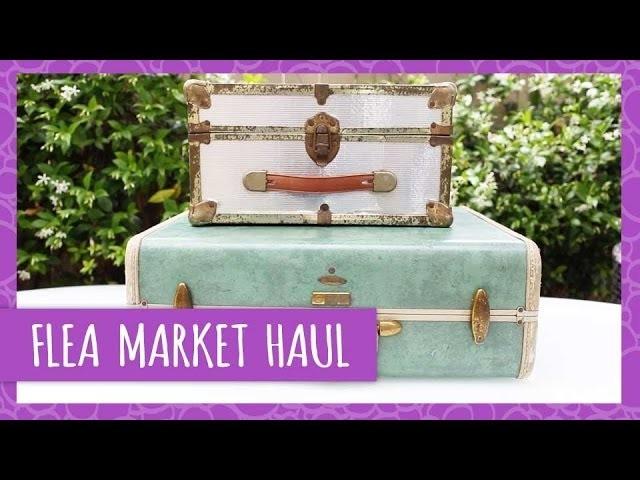 Ann's Flea Market Haul - HGTV Handmade